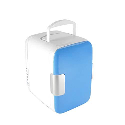 Adobe abs Auto KÜHlschrank Tragbare Kompressor Thermoelektrische KÜHlbox Gefrierbox Warmhaltefunktion Elektrische KÜHlbox FÜR Eine Komplette Getränkekiste Bierkiste,4Liter,LKW Und Steckdose,A