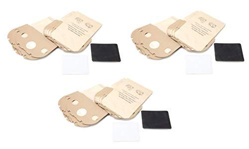 DREHFLEX - SB826-3 - 30 Staubsaugerbeutel aus Papier passend für Vorwerk - Tiger 250 251 252