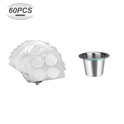 LASISZ Koffie Capsule Voor Koffiemachine Maker Navulbare Koffie Filter Herbruikbare Lege Koffie Capsule Pod Met Aluminium Afdichtingen