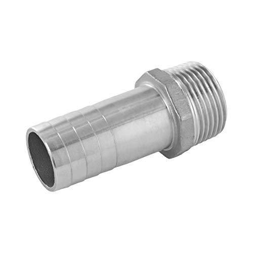 """3/4\"""" Hochwertige Edelstahl Schlauchtülle für den Wasserschlauch oder Gartenschlauch auch als Schlauchverbinder oder oder Adapter zum Schlauchanschluss einsetzbar."""