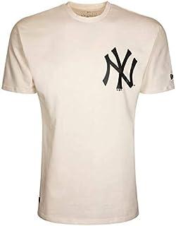 New Era Men's MLB Big Logo Oversized Tee Neyyan Sfp Short0Sleeved T-Shirt