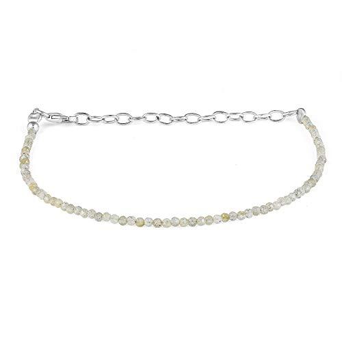 2 MM Labradorite Bracelet, Boho Bracelet, Beaded Labradorite Bracelet, Meditation Bracelet, Mermaid Bracelet, Labrodite Jewelry