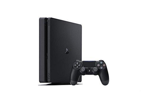 Sony PlayStation 4 Slim 500 Go, Avec 1 manette sans fil DUAL