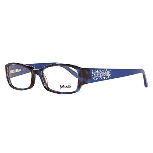 Just Cavalli Brille JC0456 055 53 Montature, Blu (Blau), 53.0 Donna