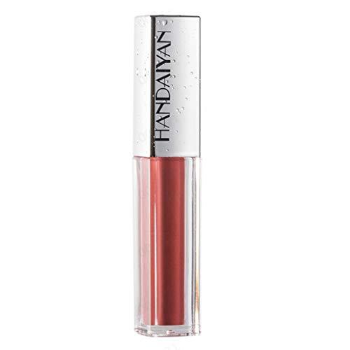 SHE.White Waterproof Matte Lip Glosses Sexy Liquid Lipgloss Long Lasting Tragbares Lipsticks...