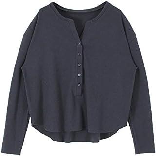 (ティティベイト) titivate ヘンリーネック長袖Tシャツ ATXN0097
