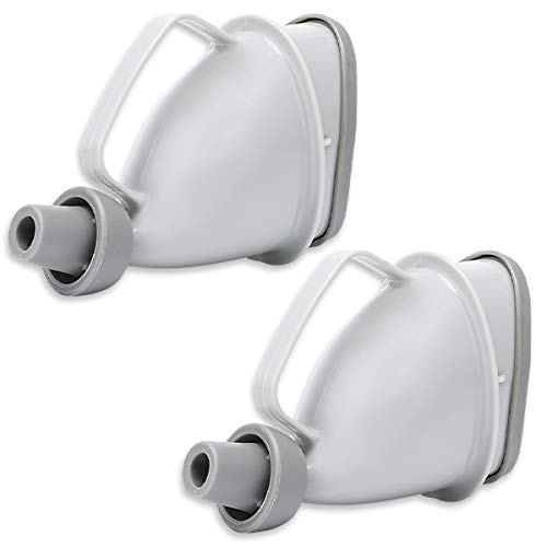 ABINECS 携帯トイレ (2個セット) 男女兼用 アウトドア用携帯簡易トイレ 小便用 車 渋滞 お手入れ簡単