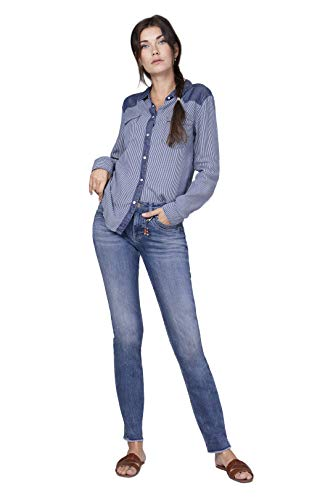 Blue Fire Co Nancy 002 - Slim, cool Blue 28/30 - Damen