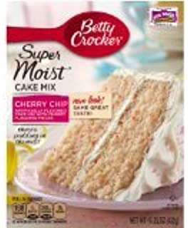 Betty Crocker Cherry Chip Cake Mix (Package of 4)