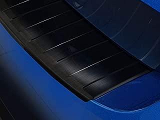 Fahrzeugspezifischer Ladekantenschutz aus Edelstahl in schwarz mit 3D Abkantung AZ30000005