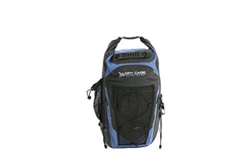 Dry CASE BP-35 Masonboro Waterproof Adventure Backpack - 35L, One Size, Blue/Black