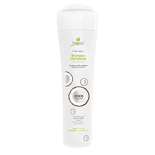 Naissant Professional- Coconut Treatment Shampoo. Moisturizing, Protector and Repairing Dry Hair-Without Salt and Parabens (10.1 Fl Oz)