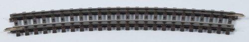 Märklin 2232 H0 K-Gleisstück Geb. R424,6 mm/22°30° / 1 Stück