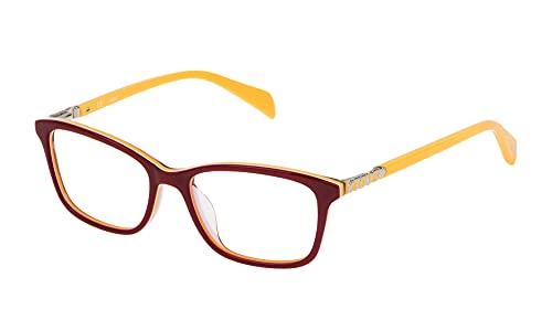 TOUS S0350809 Marcos para Gafas recetadas, Rojo, 49 mm Unisex niños