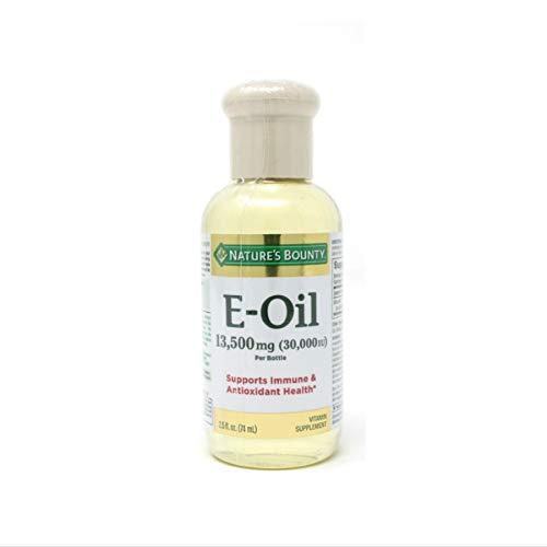 Nature's Bounty Vitamin E-Oil 30,000 IU (Topical or Oral), 2.5 Ounces (3)