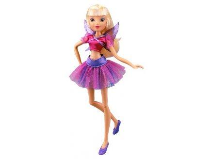 Winx club - fairy dance - poupée fée stella 28cm