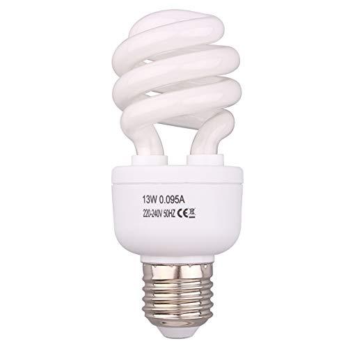AIICIOO Reptile Light Bulb 5.0 13W Desert Compact Fluorescent Bulb for...