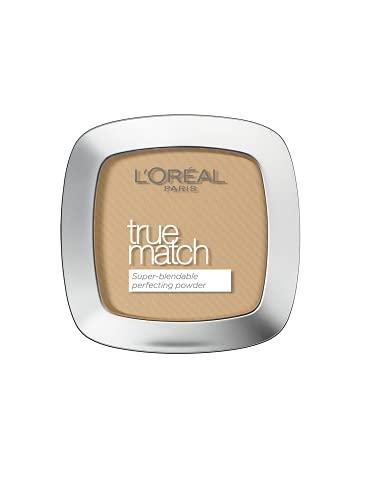 L'Oreal Paris L'Oréal Paris True Match Cream Powder W3 Golden Beige, Golden Beige, 9mL, 1 count