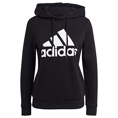 adidas GM5514 W BL FT HD Sweat Womens Black/White S