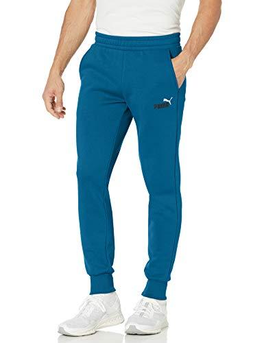 PUMA Men's Essentials Fleece Pants, Digi-Blue, XXL