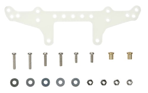 FRP Rear Roller Stay For Super X and XX Chassis (Natural Color) Mini 4WD Grade Up Parts Limited Edition