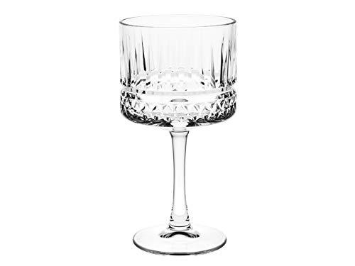 PASABAHCE 471733 Elysia Confezione 4 Calici Cocktail, Vetro, Trasparente, 50 Cl