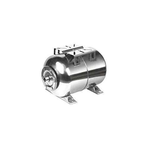 Druckkessel Edelstahl | 24 Liter Membrankessel | Druckbehälter Hauswasserwerk Druckspeicher