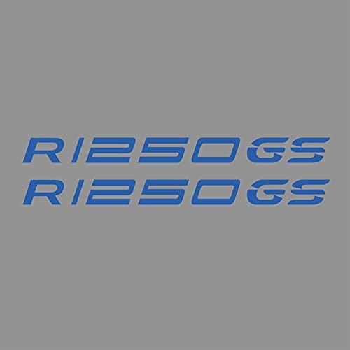 JIUZHEBA Motocicleta para BMW R1250GS R1250 R 1250 GS Body Shell Ruedas Llantas Casco Tank Pad Calcomanías ADV Adventure 2018 2019 2020 (color azul R1250GS)