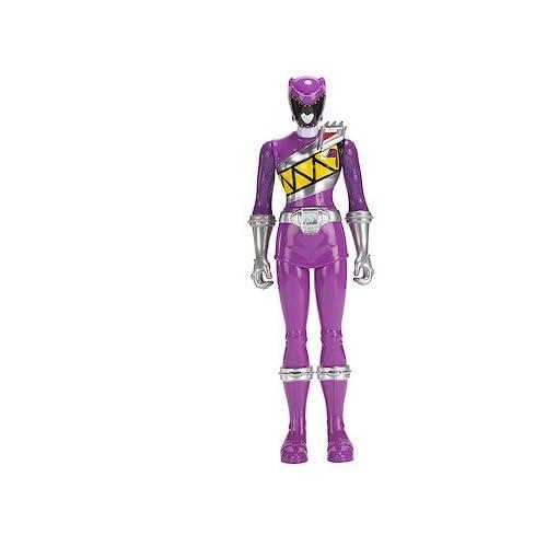 "Power Rangers Dino Super Charge Purple Ranger 30 cm 12/"" Action Figure NEW"