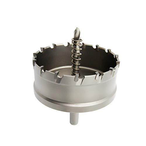 Sierra de agujero bi-metal T.C.T carburo resistente LAIWEI de grado industrial cortador de agujeros de acero inoxidable (3-9/16'90mm)