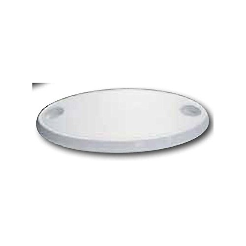 Nuova Rade Table ovale en ASA, 76X45X4cm, Couleur Blanche