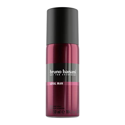 bruno banani Loyal Man – Deodorant Body Spray – Frisch-fruchtiges Herren Deo-Spray – Maximal langanhaltender Duft – 1 x 150ml