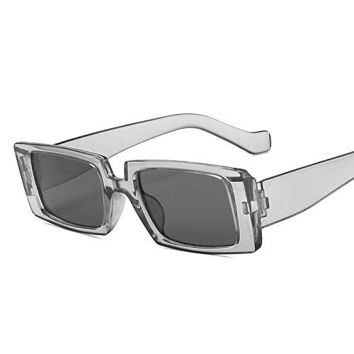 Gafas de Sol Hip Hop Shades Gafas De Sol De Diseñador De Lujo Marco Cuadrado Gafas De Sol Mujeres Hombres Gafas Vintage Retro Mirror 4