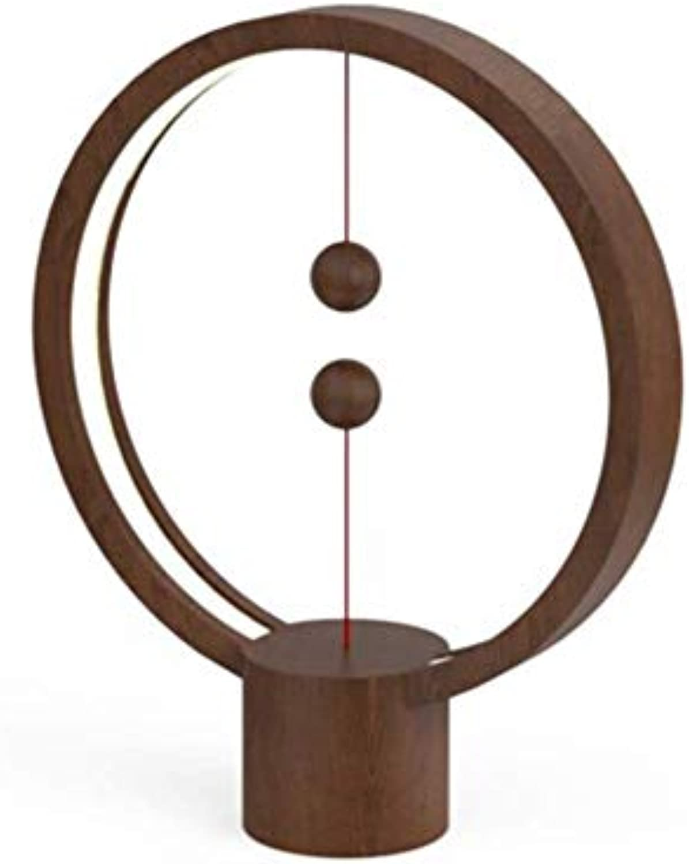 Heng Balance Lampe-Ellipse Eine Award-Winning World Class Lampe, Magnetic Mid-Air Switch USB Powerot LED-Lampe, rotdot Design Award Winner Lampe,schwarz