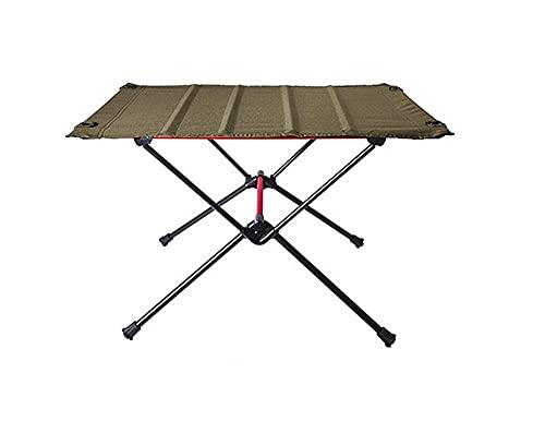 NZBZ Mesa de Camping Plegable portátil Aleación de Aluminio Muebles de Exterior Escritorio para la Cena para la Fiesta Familiar Picnic-D