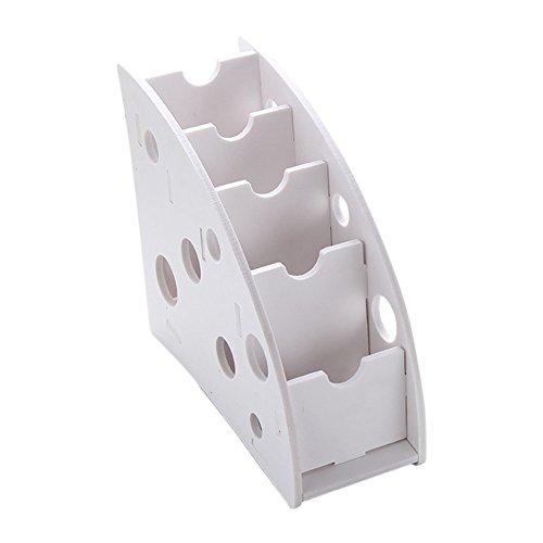 Weimay Einfache Desktop Aufbewahrungsbox Umweltschutz Kreative Aufbewahrungsbox Holz Kunststoff Bord Desktop-Couchtisch Fernbedienung Multifunktions Aufbewahrungsbox