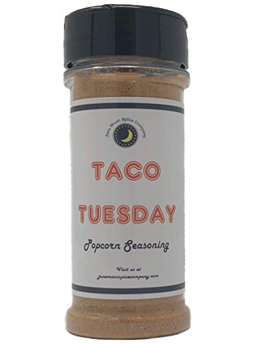 Best Price Premium | TACO Popcorn Seasoning | Large Shaker | Calorie Free | Fat Free | Saturated Fat...
