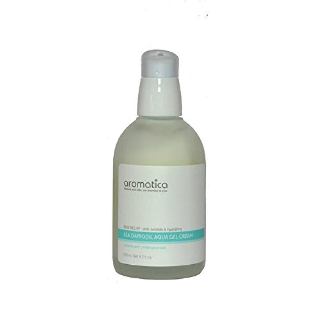 自分の力ですべてをするニコチン気味の悪いaromatica Sea Daffodil Aqua Gel Cream 100ml (Pack of 6) - 海水仙アクアゲルクリーム100ミリリットル x6 [並行輸入品]