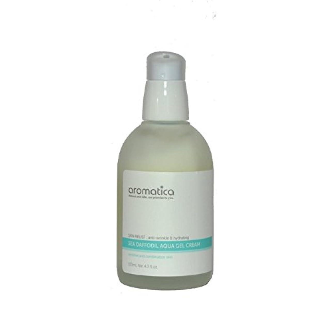 ランチョンテスピアン牛肉海水仙アクアゲルクリーム100ミリリットル x2 - aromatica Sea Daffodil Aqua Gel Cream 100ml (Pack of 2) [並行輸入品]