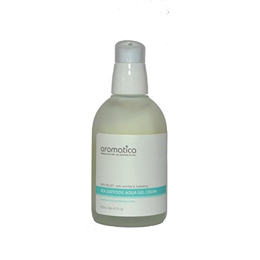 キャプチャースーツケース名声海水仙アクアゲルクリーム100ミリリットル x2 - aromatica Sea Daffodil Aqua Gel Cream 100ml (Pack of 2) [並行輸入品]
