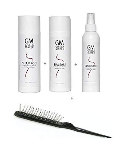 Perücken Kunsthaar Pflegeset Shampoo 200 ml + Balsam 200 ml + Conditioner 200 ml Gisela Mayer