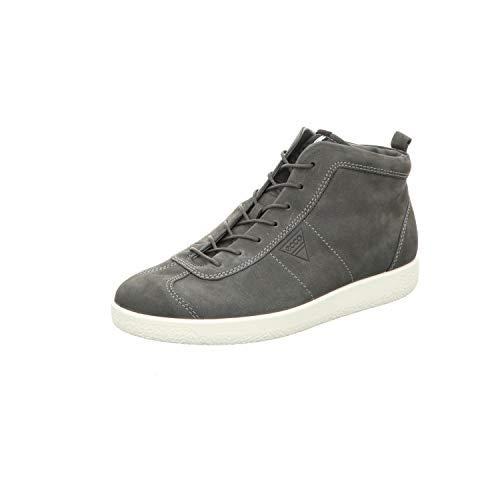 ECCO Herren Soft 1 Men's Hohe Sneaker, Grau (Dark Shadow), 42 EU