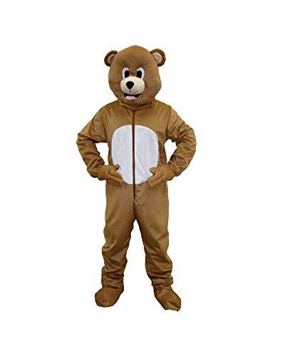 Dress Up America Mascotte d'ours brun pour enfants