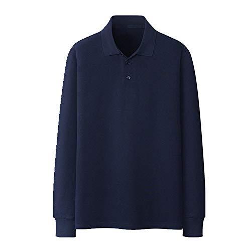 N\P Camisa de manga larga para hombre en otoño. marine L