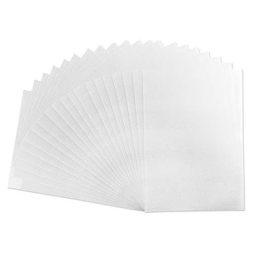 Schrumpf-Folien, DIN A4, matt-transparent, 20 Stück
