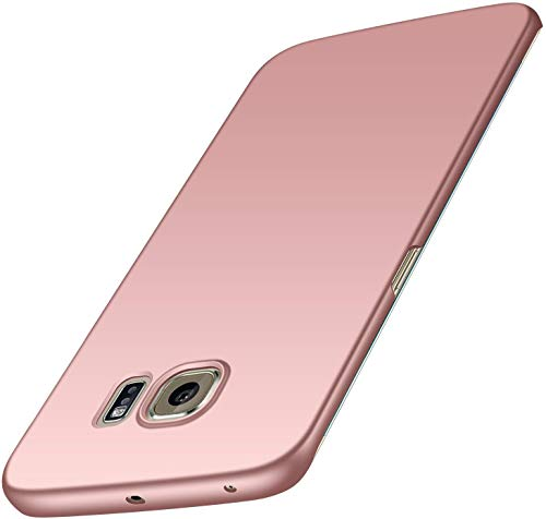 Phone Case for Samsung Galaxy S6 Edge Plus Slim Protective Case [Matte Finish] [Guard from Scratch/Fingerprint/Slip/Shock] [Ultra Thin] Premium PC Hard Cover for Samsung S6 Edge Plus (Pink)