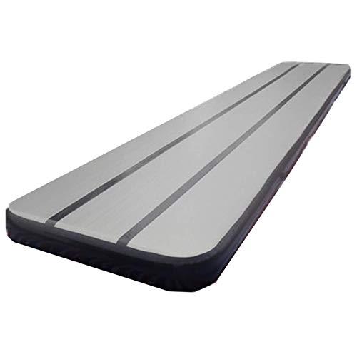Tappetino gonfiabile per ginnastica e ginnastica, tappetino gonfiabile per allenamento a casa e sport, per uso domestico, palestra, yoga, allenamento e cheerleader (dimensioni: 4; colore: B)