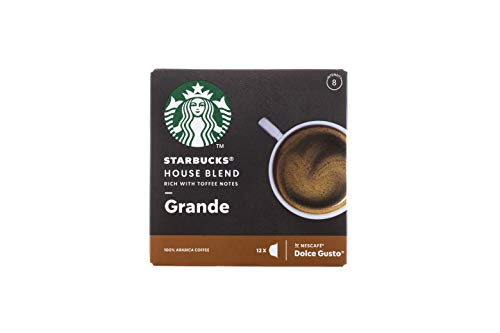 Starbucks House Blend Grande Kaffee by Nescafe Dolce Gusto - Kaffeekapseln - Rich with Toffee Notes