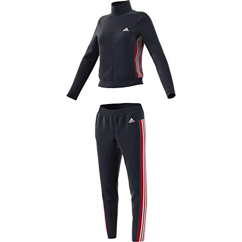 adidas Damen Damen Sportanzug Sportanzug-Fs2449, Black/White, S, FS2449