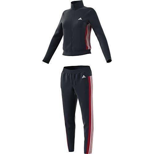 adidas Damen Damen Sportanzug Sportanzug-Fs2449, Black/White, M, FS2449